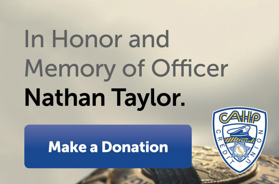 Image of Officer Nathan Taylor Memorial Fund