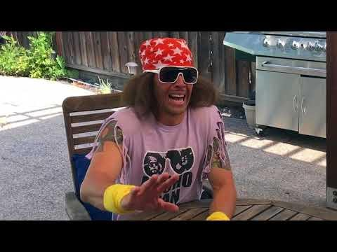 Macho Man has Coffee with Cops