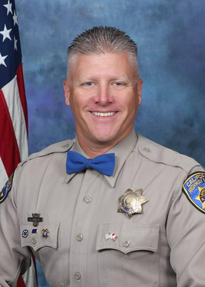 The CHP family mourns loss of Officer Kirk Griess